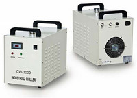 AC 1P 220V Water Chiller CW 3000AG For 80W CO2 Laser Tube Water Pump / Tank