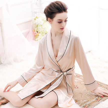 Free shipping Women plus size Silk sets Night Robe Solid Robe Bath Robe Sexy Bathrobe sleepwear Wedding Bride Bridesmaid Robe