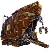 05038 Лепин 3346 шт. Star Wars Sandcrawler модель строительные блоки классический Просвещения DIY Рисунок Игрушки для детей Совместимые Legoe