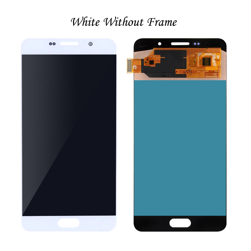 LCD Display for Samsung Galaxy A7 2016 A7100 A710F A710 A710M Touch Screen Digitizer Replacement