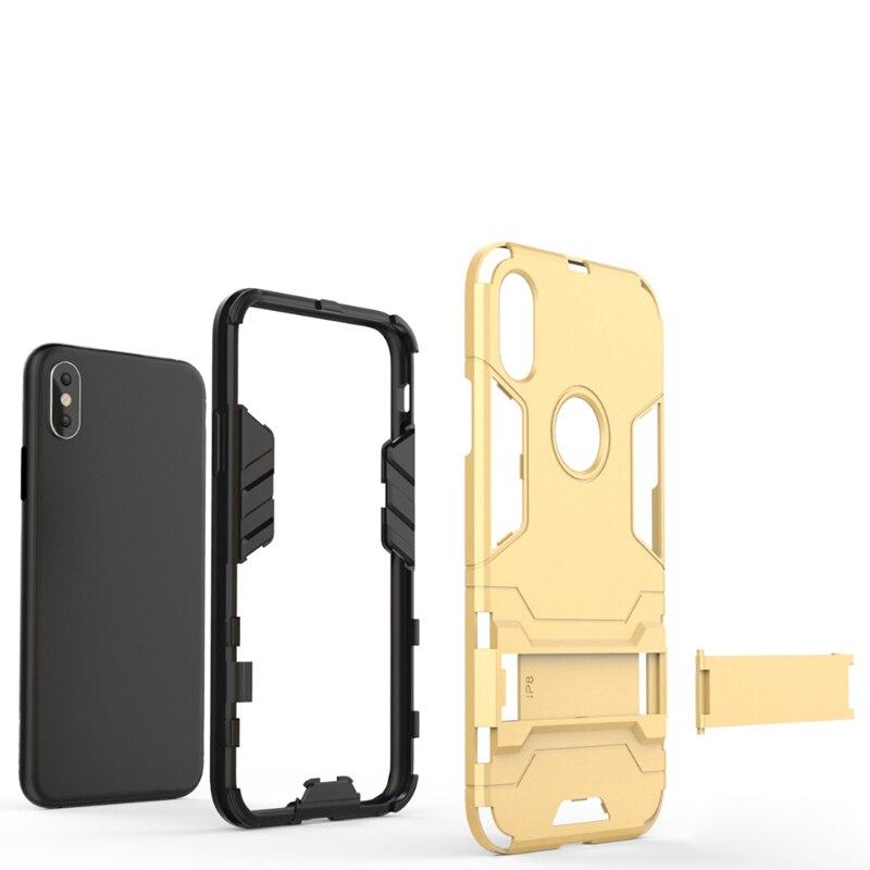 Чехол для iPhone X 8 7 Plus Heavy Duty Броня ударопрочный жесткий Hybird силикона TPU + PC Обложка для iPhone8 iPhone7 телефон случаях