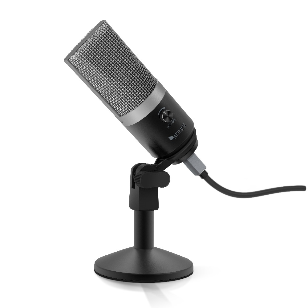 Image 5 - FIFINE USB condenser microphone for computer professional recording MIC for Youtube Skype meeting game one line teaching 670 1-in Microphones from Consumer Electronics