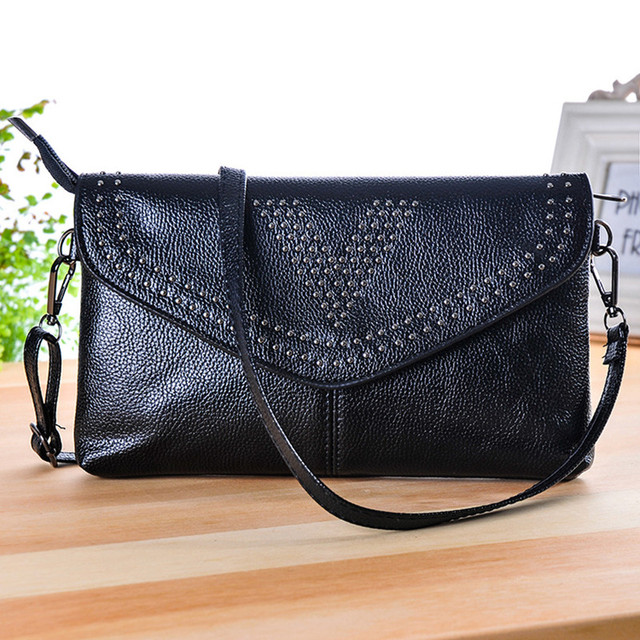 TONGLUN MOBEI Envelope Clutch Fashion Women CrossBody Shoulder Bag Rivet Brand Designer Lady Messenger Bags Purses And Handbags