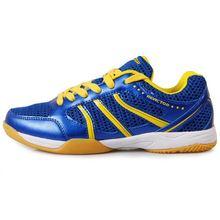 Нескользящая дышащая обувь для настольного тенниса с амортизирующей подошвой для мужчин и женщин; кроссовки для занятий спортом на открытом воздухе; износостойкая спортивная обувь