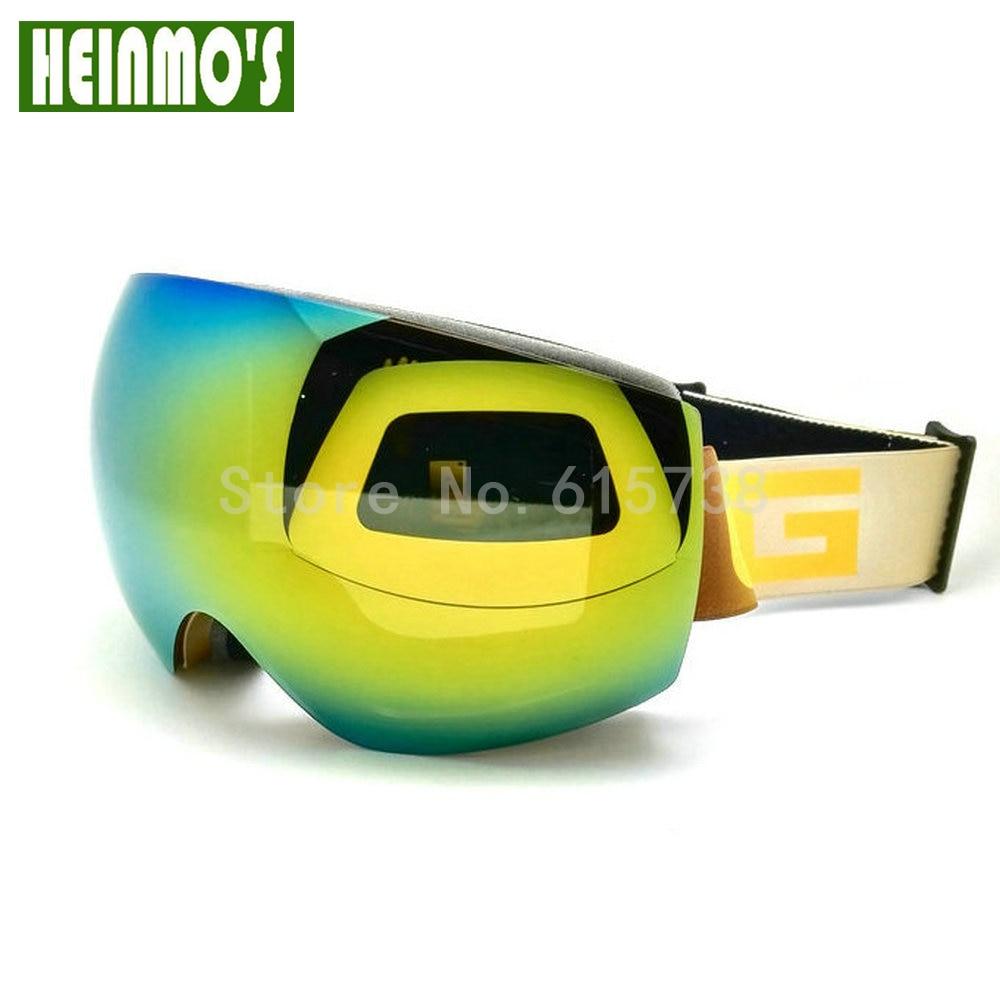 Dual lens Motorcycle Ski Goggles Double Lens Anti-fog Adult Motocross Snowboard Skiing Glasses Women Men Snow Eyewear