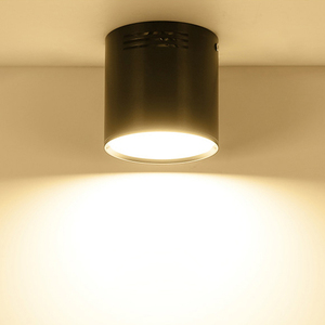 Image 5 - 7 واط/9 واط/12 واط/18 واط سطح شنت LED النازل AC110V/220 فولت الإضاءة الزخرفية النازل SMD5730 مصدر ضوء شحن مجاني