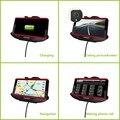 Imobi4 original 360 graus ajustável suporte para carro com carregador ventosa cradle & carregador de carro para sony xperia z3/gps adaptador