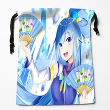 New Arrive  ika musume  Drawstring Bags Custom Storage Bags Storage Printed gift bags More Size 27x35cm DIY your picture