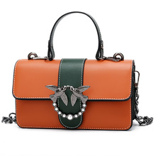 Swallow Fashion Women's Shoulder Bag High Quality PU Lesther Luxury Handbags Women Bags Designer 2018 Summer New women handbags