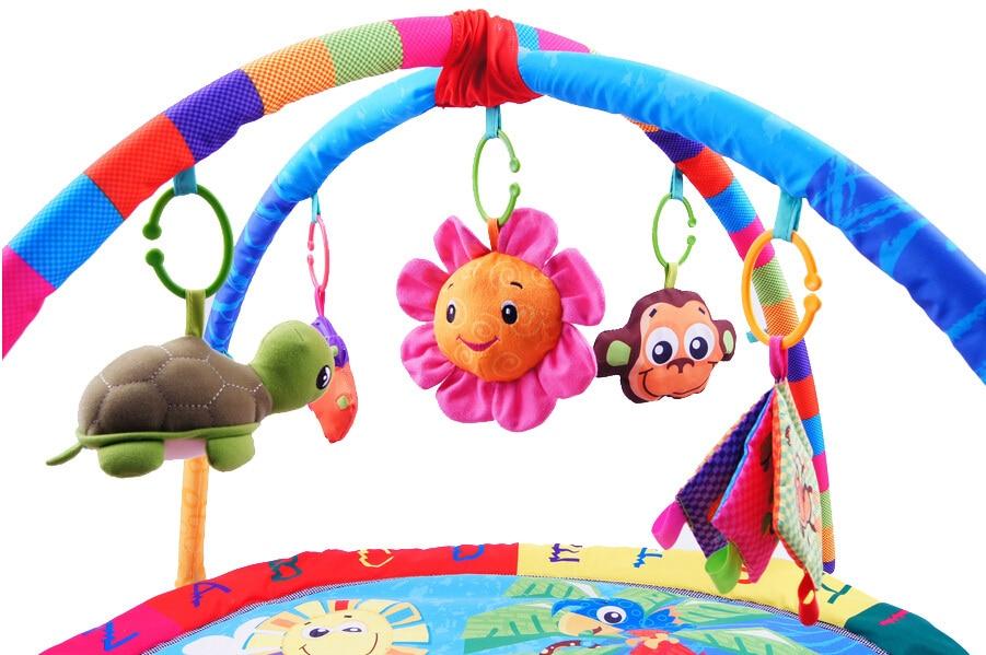 Activité de Jeu pour bébé Tapis Bébé Gym Éducatifs Fitness Cadre Multi-support Bébé Jouets Jeu Tapis - 4