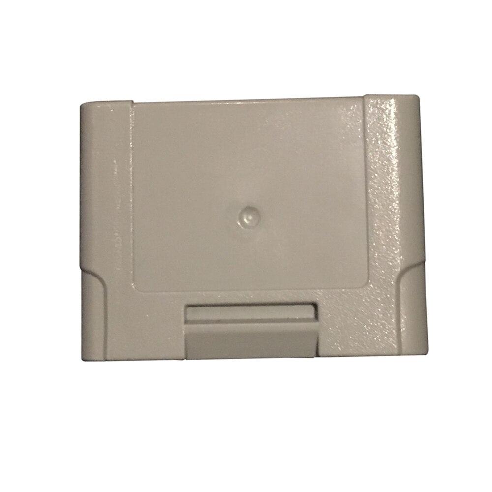 Paquete de controlador de 10 Uds., tarjeta de memoria de expansión para controlador N64