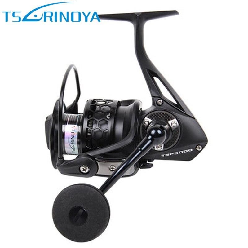 Tsurinoya Spinning Reel Fishing 12 kg/12BB/5.2: 1 TSP4000 5000 Full Metal Jig Spinning Reels Carretes Pesca Molinete Peche