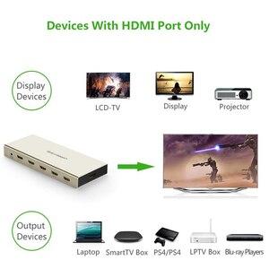 Image 5 - UGREEN HDMI التبديل 4K x 2K 5 ميناء 5 في 1 مقسم الوصلات البينية متعددة الوسائط وعالية الوضوح (HDMI) الجلاد صندوق يدعم ثلاثية الأبعاد متوافقة ل HDTVs بلو راي اللاعبين Xbox PS3/4