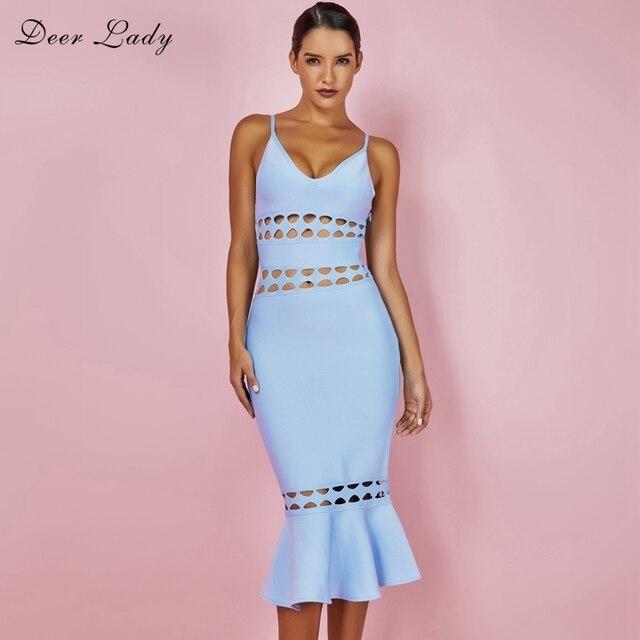056d8833342a Deer-Lady-Sexy-Ruffle-Summer-Dress-Women-2018-Spaghetti-Strap-Bandage-Dress -Rayon-Blue-Bodycon-Cut.jpg_640x640.jpg