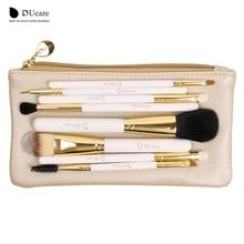 hot deal buy ducare professional makeup brush set 8pcs high quality makeup tools kit with bag super nice beauty essential  brush set