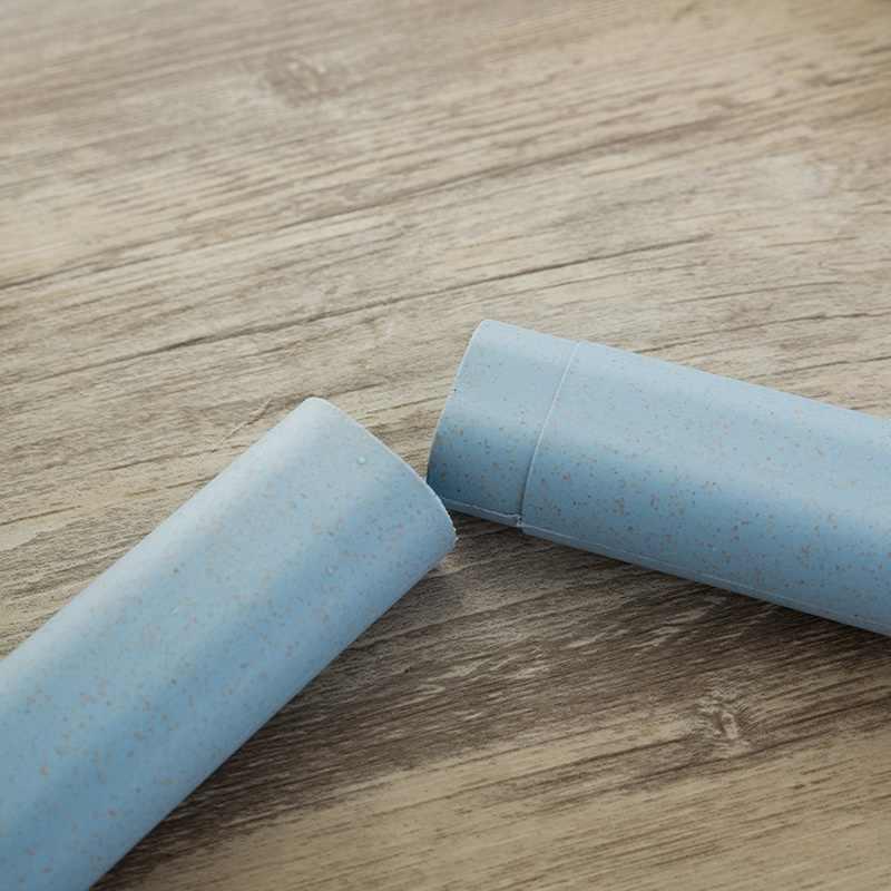 1 peça Escovas de Dentes escova de Dentes de Viagem Caso o Titular Portátil Tampa Da Caixa Suporte de Armazenamento Escova De Dentes De Viagem de Acampamento Anti-bacteriano