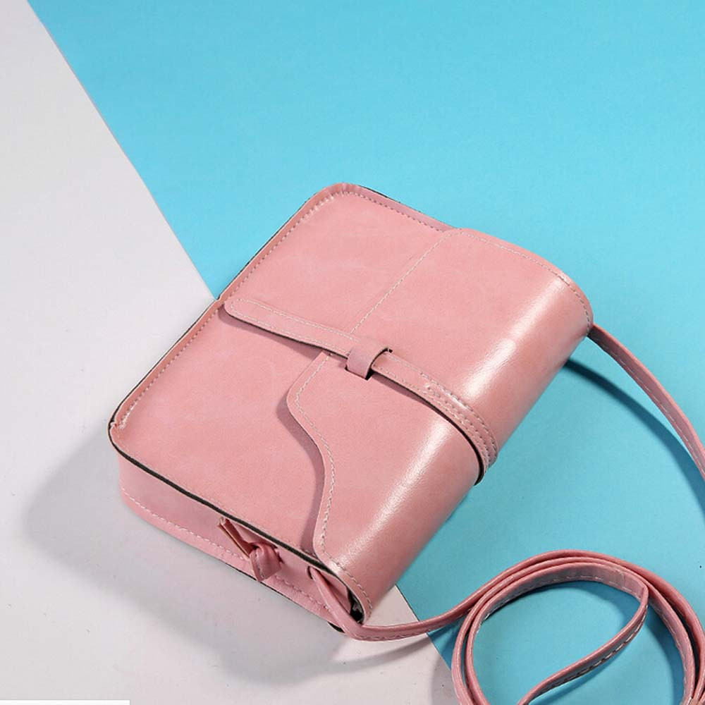 Vintage Purse Bag Leather Cross Body Shoulder Messenger Bag Large Capacity Women Bags women wedding clutches ladies party purse 2018 women messenger bags vintage cross body shoulder purse women bag bolsa feminina handbag bags custom picture bags purse tote