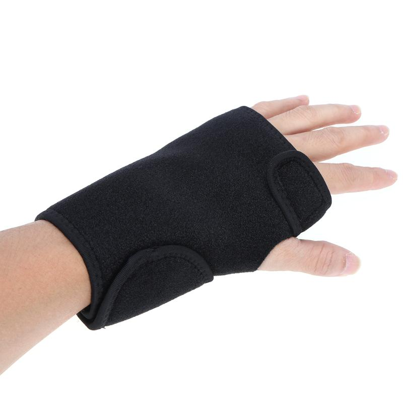 Outdoor Adult Sports Steel Hand Wrist Hand Care Protection sport wristband gym support wrist brace wrap fitness Black