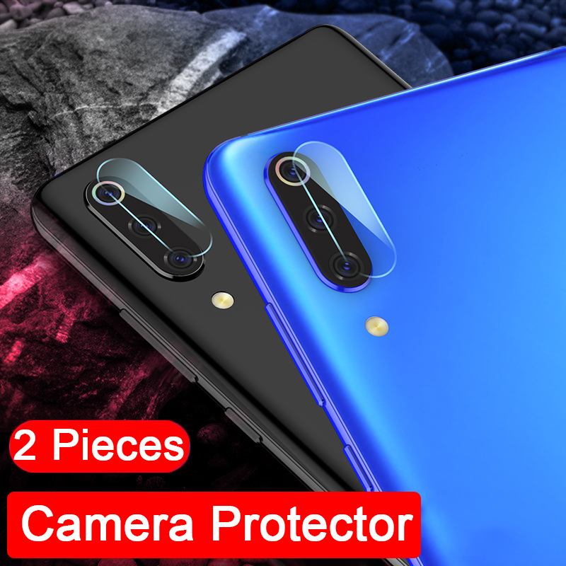 2pcs HD glass Lens protector for Samsung Galaxy A10 A20 A30 A50 A70 M10 M20 M30 S9 S10 Plus S10e Camera tempered film protector(China)
