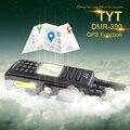 100% marca nova fábrica autorizada md-390 dmr vhf tyt walkie talkie ip-67 à prova d' água com gps e cabo de programação