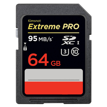 Kimsnot Extreme Pro Memory Card 32GB 16GB SDHC Card 128GB 64GB 256GB SDXC SD Card Camera Class10 UHS-I 633x 95mb/s Real Capacity Memory Cards
