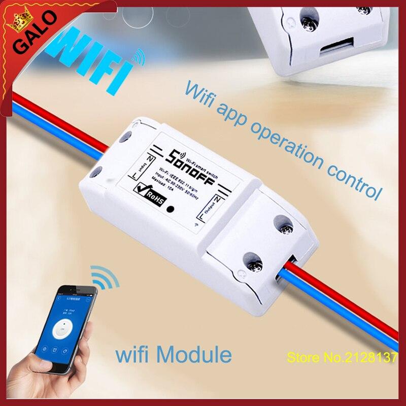 wifi relay switch/WiFi Wireless Smart Switch Module ABS Shell Socket for DIY Homewifi relay switch/WiFi Wireless Smart Switch Module ABS Shell Socket for DIY Home