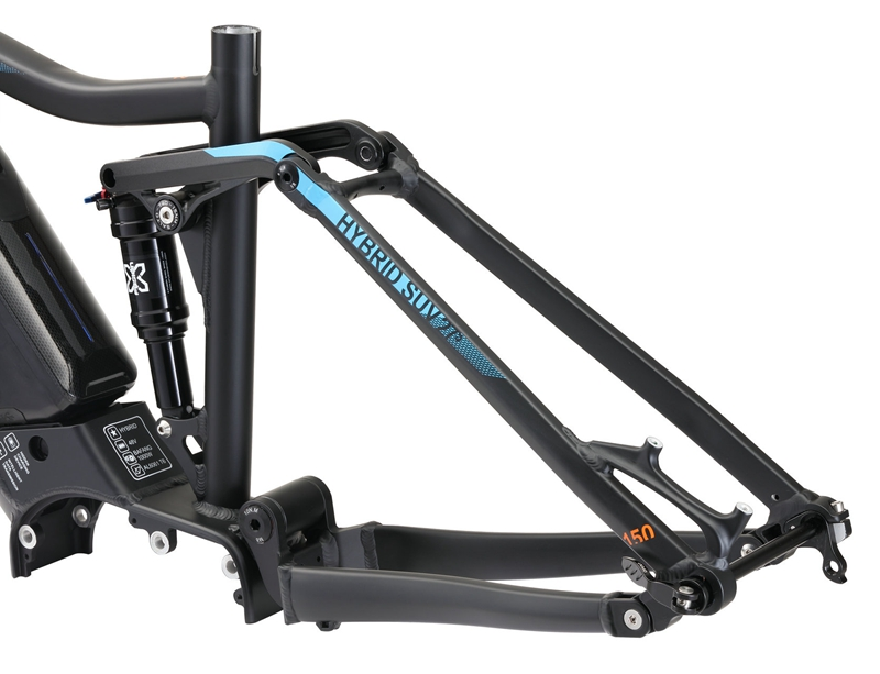 MTB E BIKE motor bike frmae SUV suspension frame aluminium alloy cross country electric frames shock bicycle downhill frame - 4