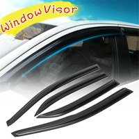 Car Window Visor Rain Sun Guard Vent Shade Set For Toyota Corolla 09 13