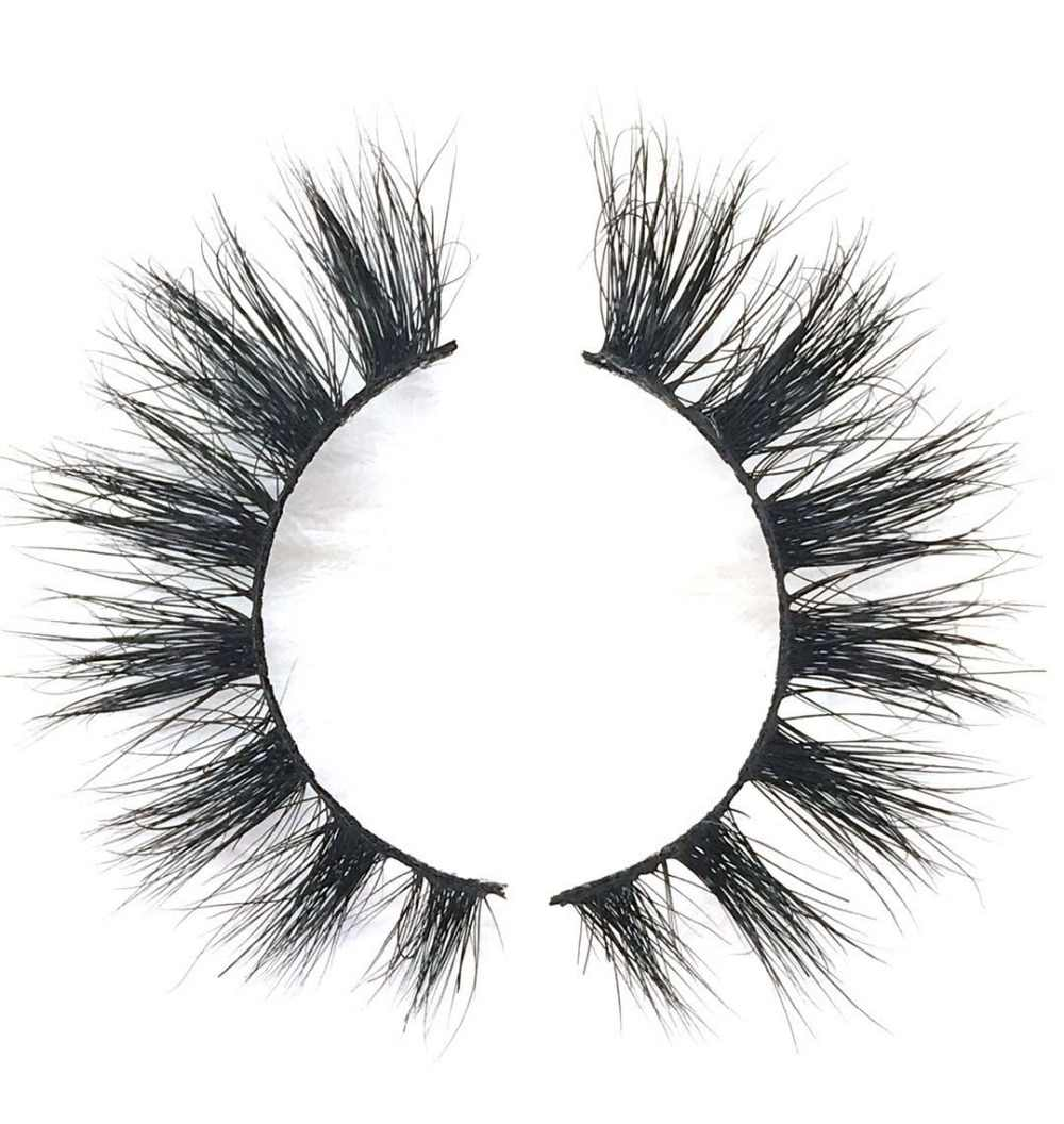 617d2333253 ... EYDILL Custom Logo Packaging Full Strip Lashes 100 pairs 3D Mink Lashes  with 100pcs Private Label ...