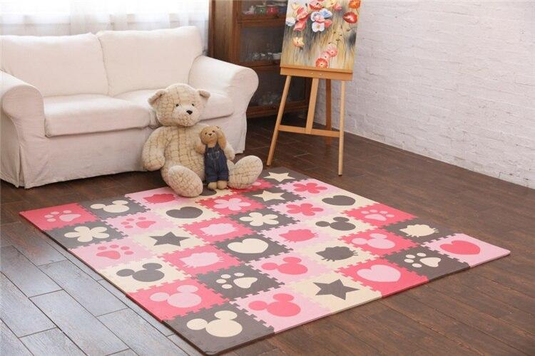 36 tiles NEEU Good Quality Baby Play Mats Fun Puzzle Eva Foam Playmat Kids Children 30*30*1cm Floor Carpet Ground Mattress-in Play Mats from Toys & ...