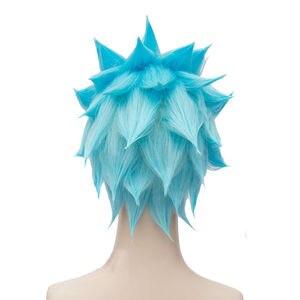 Image 4 - The Seven Deadly Sins Ban Wigs Foxs Sin codicia resistente al calor pelo sintético corto, peluca de Cosplay de peruca