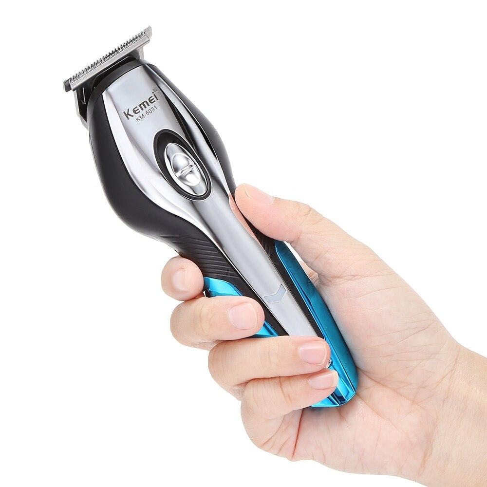 Image 5 - Kemei Cordless Hair Clipper men beard trimmer electric trimer shaver nose hair trimmer machine cut hair cutting machine 5-in Hair Trimmers from Home Appliances