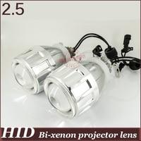 2 5 Inch HID Bi Xenon Projector Lens Angel Eye High Low Beam H4h L H1h