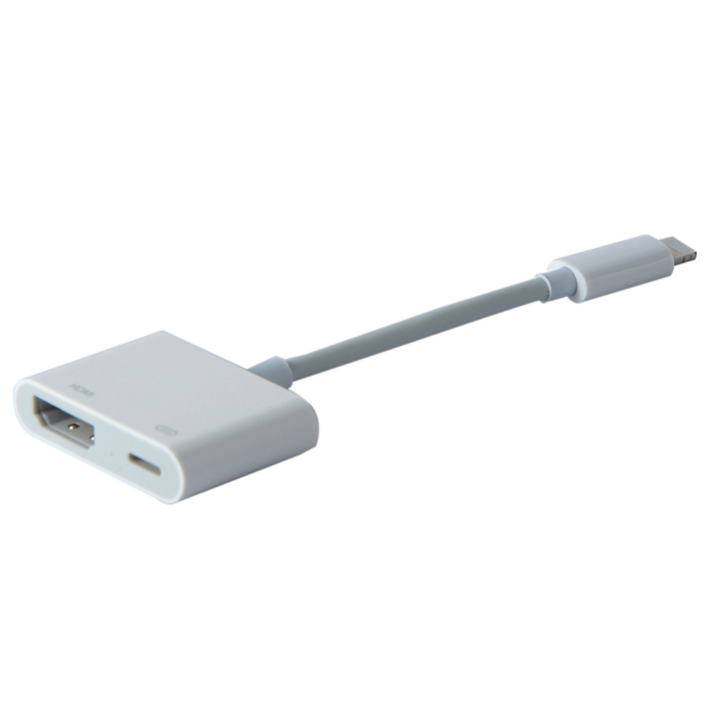 iphone 5 hdmi cable - 8 pin to hdmi hdtv adapter cable ...