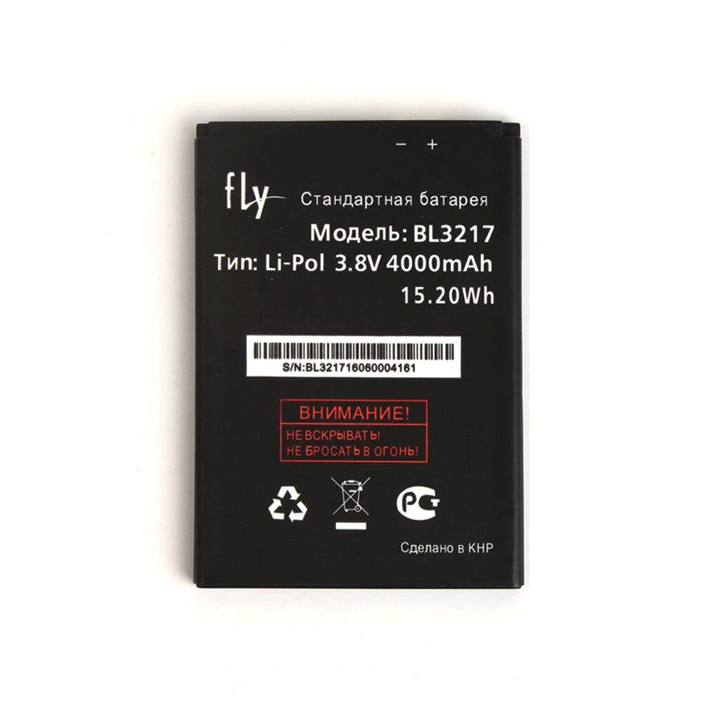 Voar BL3217 4000 mAh Banco de Potência Da Bateria de Substituição Original Para Fly BL3217 Acessórios Do Telemóvel