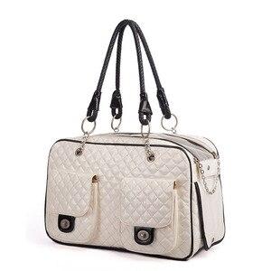 Image 4 - Marka yeni taşınabilir açık kedi köpek taşıma çantası seyahat taşıma çantası Pet Chihuahua Teddy taşıma çantası çanta