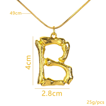 Alphabet Personalized Letter Necklace3
