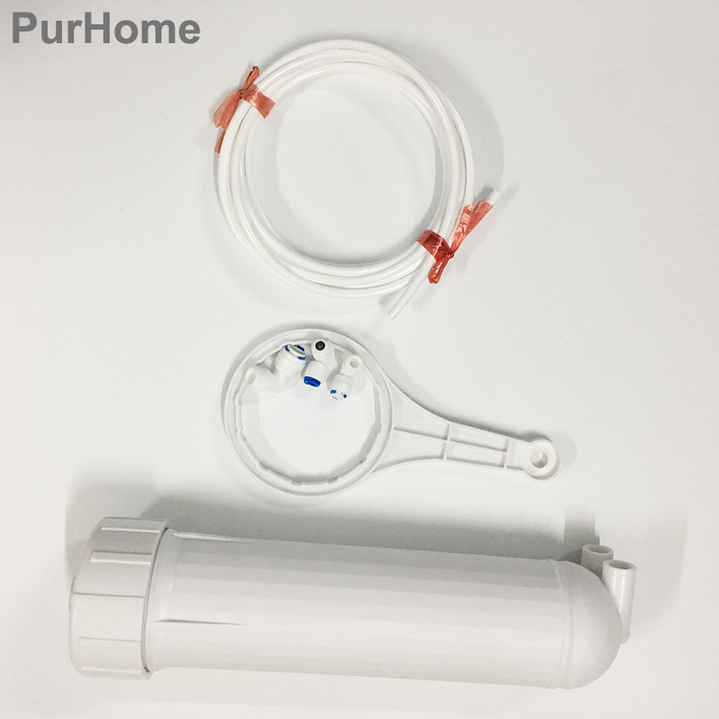 3013 Housing for RO Membrane  3013-400 GPD/3013-600 GPD With 5M 1/4OD CCK Tube/Pipe And All Fittings Reverse Osmosis housing3013 Housing for RO Membrane  3013-400 GPD/3013-600 GPD With 5M 1/4OD CCK Tube/Pipe And All Fittings Reverse Osmosis housing