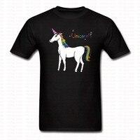 Summer Cute Unicorn Printed T Shirt Harajuku Brand Clothing Fashion Tees Casual O Neck Tshirt Hip