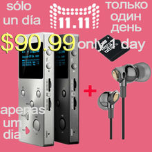 Original ONN X5 Hifi Audio Player MP3 DAC Player with 2 Screen 8GB Lettore with FM