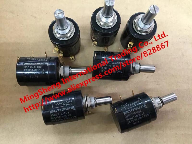 Original new 100% 3509s-8-102 1K 10 Ring - turn potentiometers (SWITCH) wx16 12 33 europe wirewound potentiometers