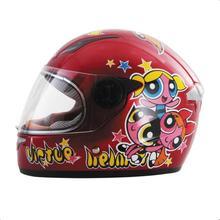 2016 Новый горячий шлем Детей Baby Pink Безопасно Анфас Красивые Дети Мотоцикл Электрический Велосипед Мультфильм Pattern Продажа М Л