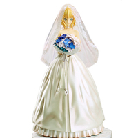 Japan Anime Fate Stay Night Action Figure Vinyl Doll King Arthur Arturia Pendragon Saber Toys For
