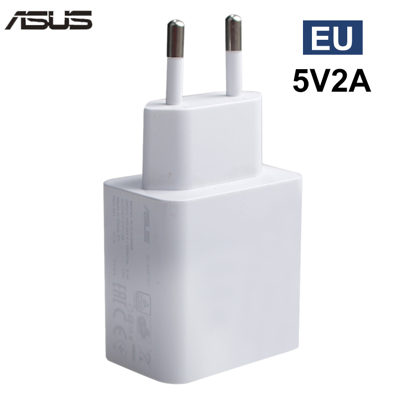 ASUS Original Charger 5V 2A EU US Adapter USB Travel Charging for Asus Zenfone 2 for Xiaomi Samsung Huawei Smart Mobile Phone