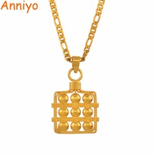Anniyo Marshall Pendant Necklaces for Women Micronesia Chains Jewelry Guam Kiribati Island #143906P