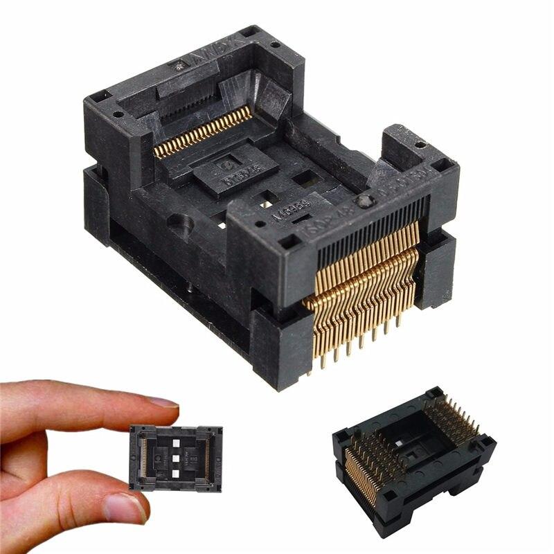 TSOP 48 TSOP48 IC354-0482-031P Socket For Programmer NAND FLASH IC Electrical Plugs Sockets Connectors Board free shipping program ch2015 usb high speed programmer 300mil fp16 to dip8 socket eeorom spi flash data flash avr mcu programmer