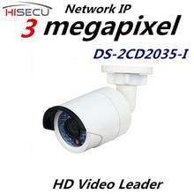 Видеонаблюдения Мультиязычная Версия Ip-камера 3.0 Мегапиксельная Пуля Камеры Наблюдения DS-2CD2035-I 4 мм Фиксированный Объектив