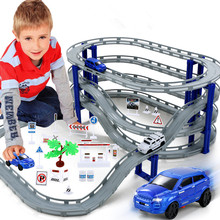 New Arrival 3 types Children's Toys Thomas Small Train Set Electric Train Track Car Racing Track Toy 3-6 Years Old education toy