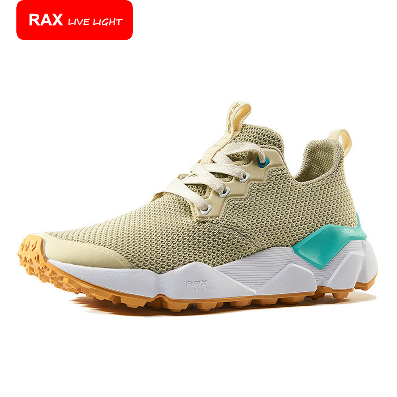 ФОТО RAX New Running Shoes For Men Women Breathable Hommes Sports Chaussures De Course Outdoor Athletic Walking Sneakers 71-5C413