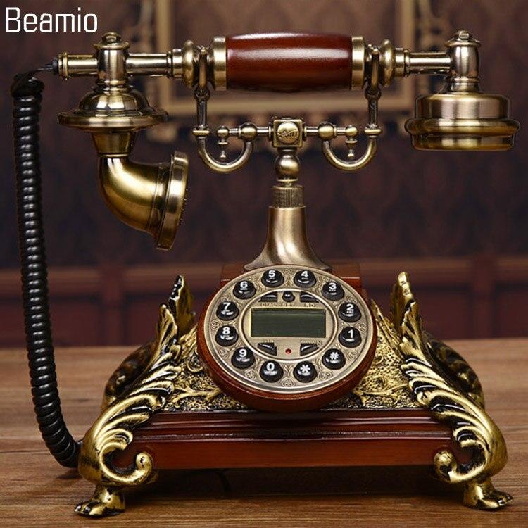 Новые высококачественные Винтаж под старину Телефоны Европейский телефон стационарный телефон retrotelephone telefono фихо для Офис